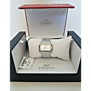 Tissot White Dial T-Wave Watch